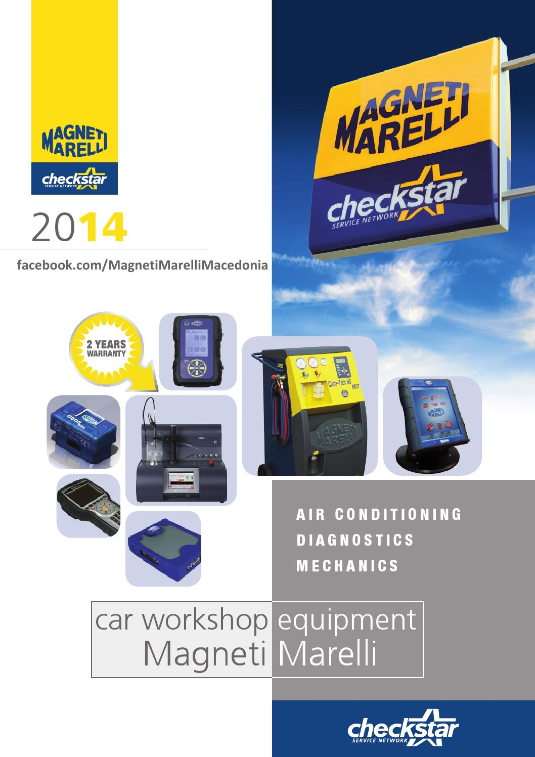 magneti marelli workshop equipment catalog 2014 en by. Black Bedroom Furniture Sets. Home Design Ideas
