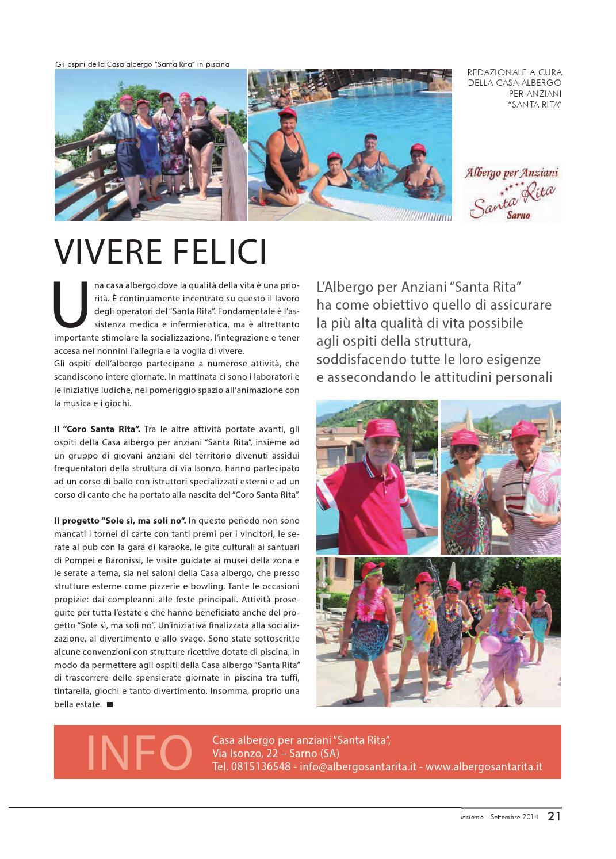 Piscine A Nocera Inferiore insieme - settembre 2014 by diocesi nocera inferiore-sarno