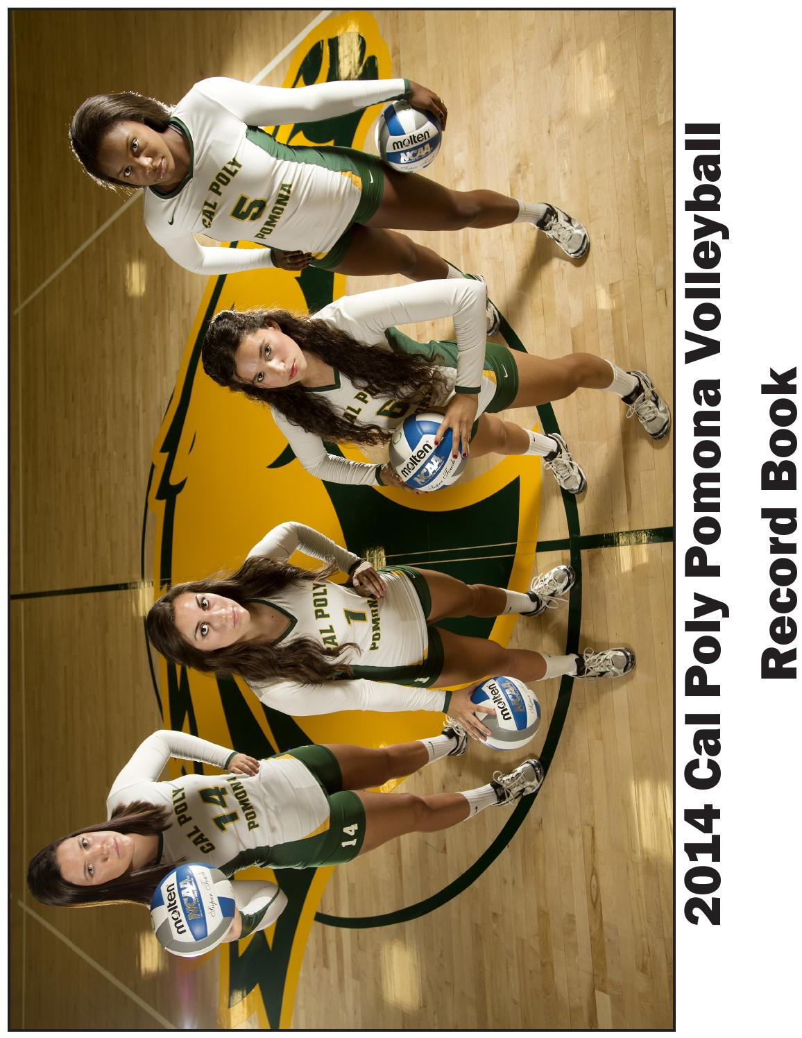 2014 Cpp Volleyball Record Book By Billy Bronco Issuu