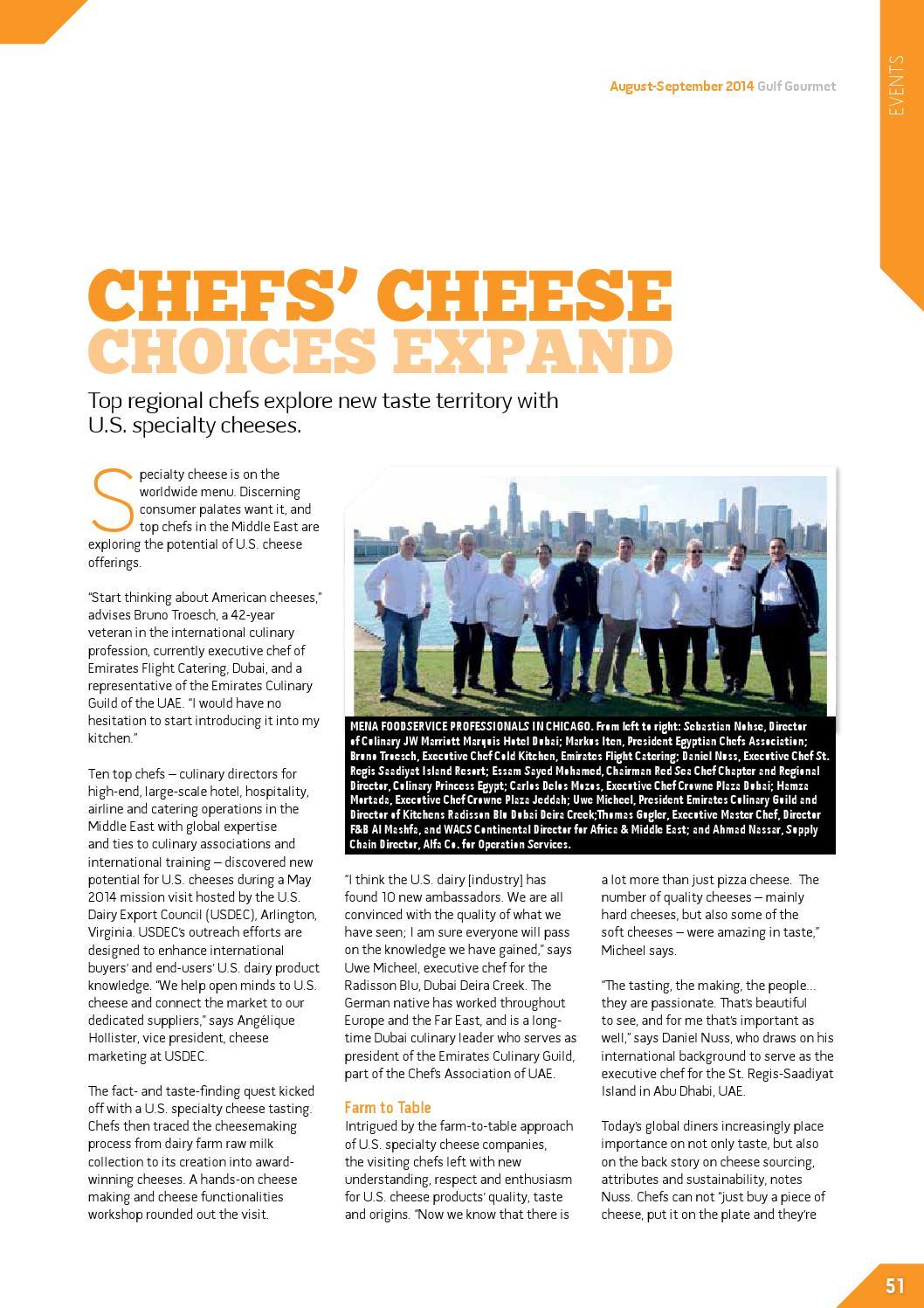 August-September 2014 by Gulf Gourmet magazine - issuu