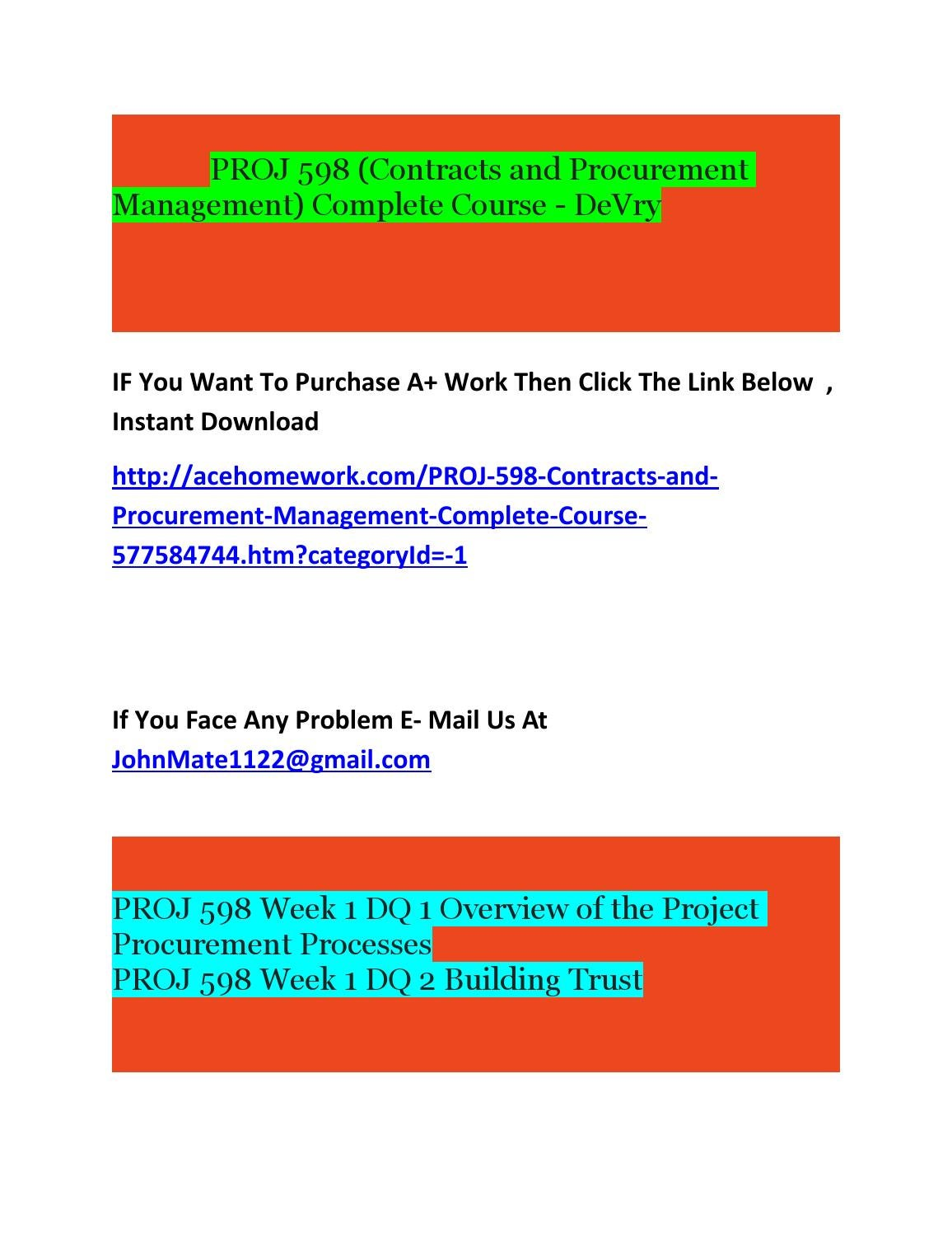 proj 598 week 3 quiz Essays - largest database of quality sample essays and research papers on proj 598 week 3 quiz.