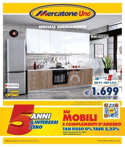 Mercatoneuno 5ott by volavolantino issuu for Mobili mercatone uno
