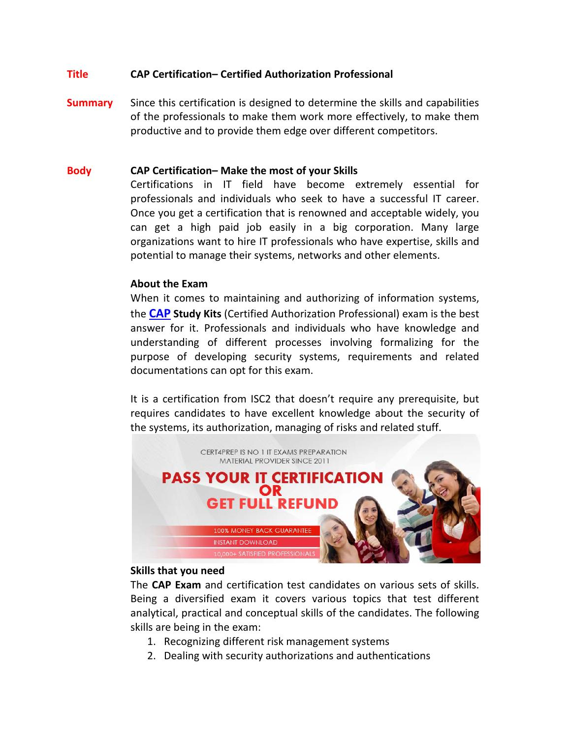 ccfebc5f908 Cap study material by Jessebutler - issuu