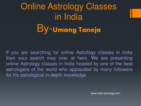 Online astrology classes in delhi ncr by KamalZafar - issuu