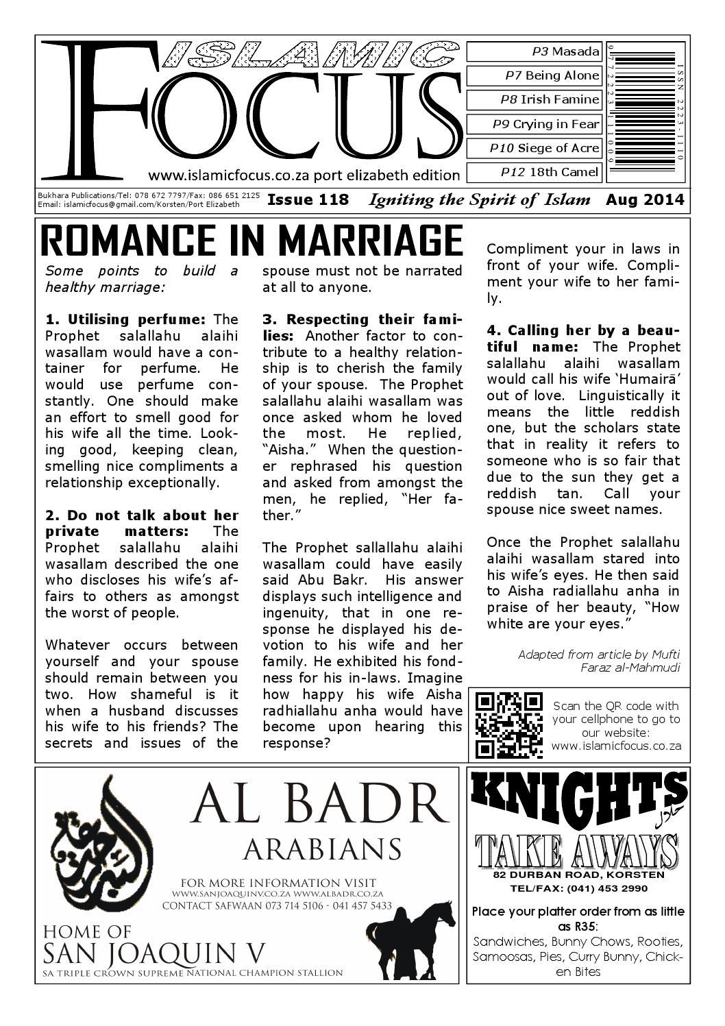 Islamic Focus Issue 118 by Islamic Focus - issuu