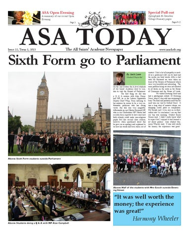 ASA TODAY - Issue 22 281026106