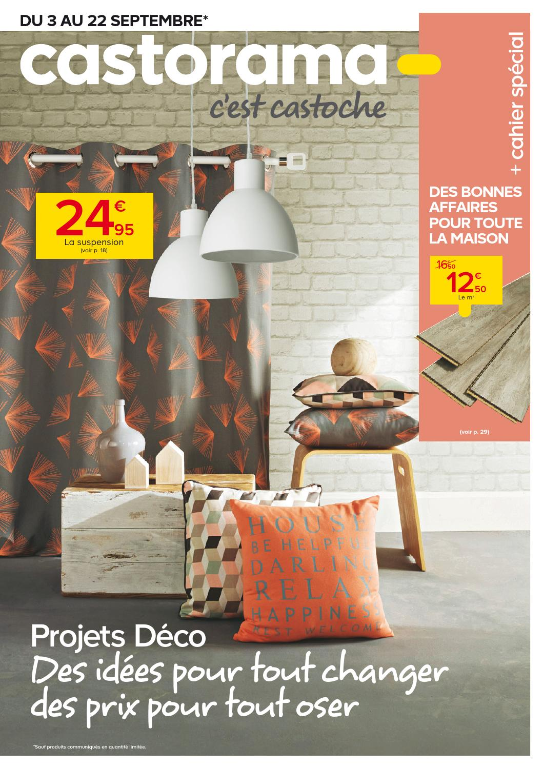 castorama catalogue 3 22septembre2014 by issuu. Black Bedroom Furniture Sets. Home Design Ideas