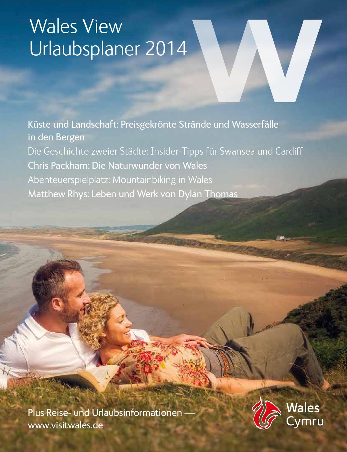 Wales View German 2014 by Visit Wales - issuu