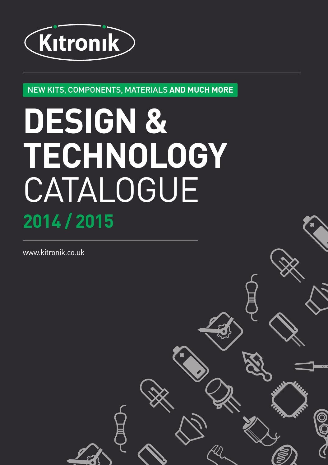Kitronik 2014 2015 Catalogue By Issuu Metal Sensor Detector Circuit Schematic With Tda2822 The