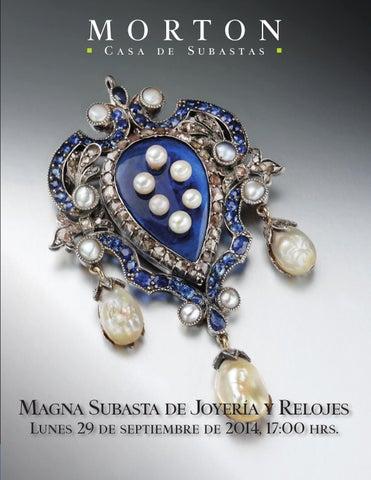 cdd90a1eddf2 Magna Subasta de Joyería y Relojes by Morton Subastas - issuu