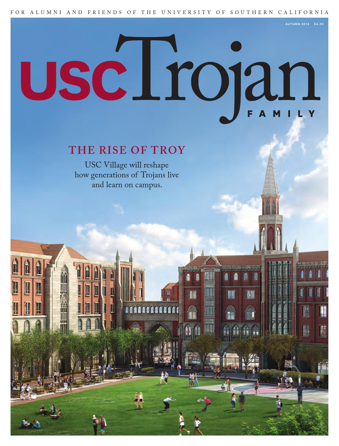Trojan Family Magazine Autumn 2014 by University of Southern