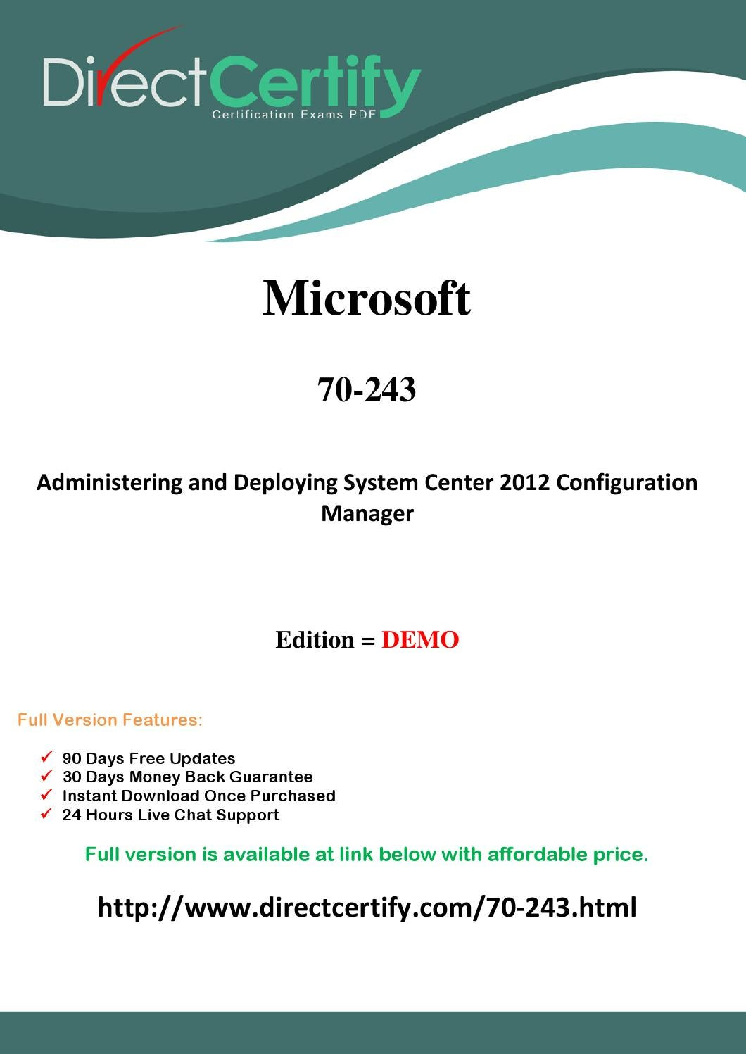 70 243 Exam Questions Pass In First Attempt By Reardonjohnb Issuu