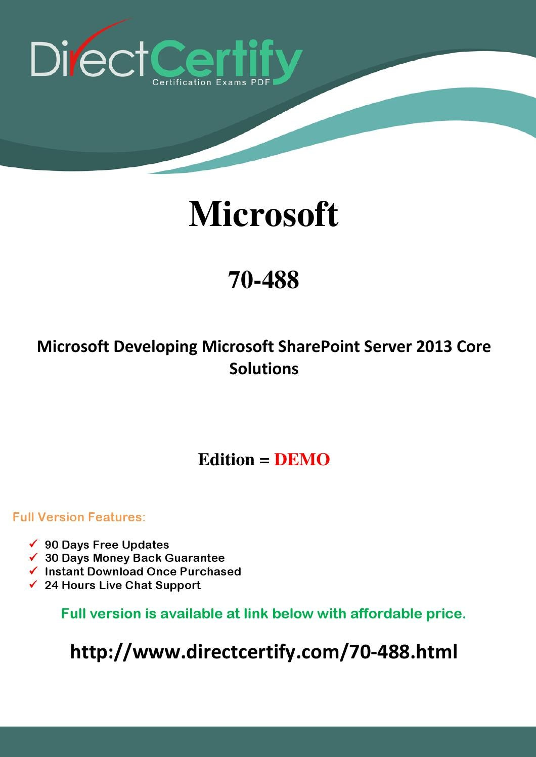 70 488 exam questions pass in first attempt by reardonjohnb issuu xflitez Images