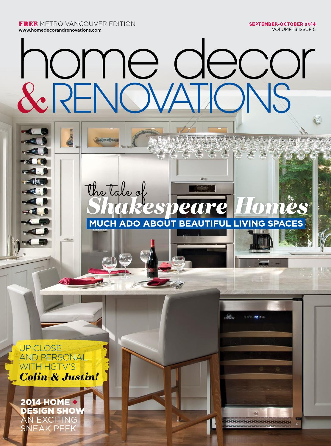 Attractive Vancouver Home Decor U0026 Renovations   SEP/OCT 2014 By NextHome   Issuu