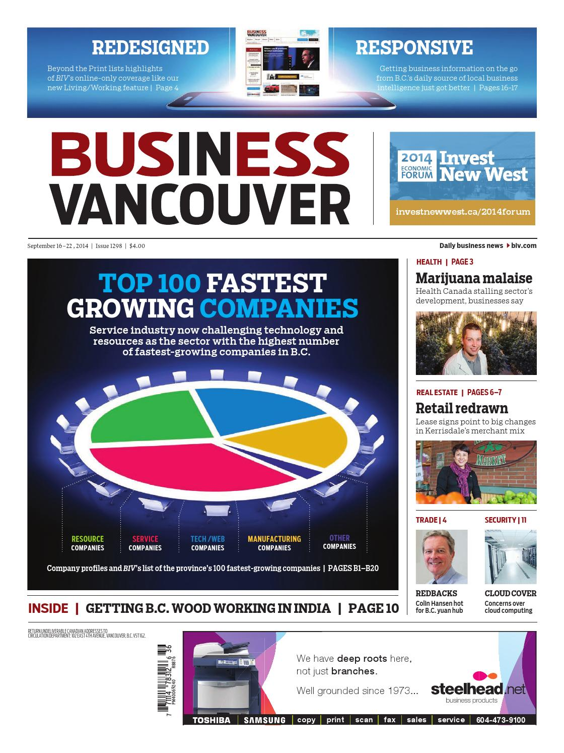 Business In Vancouver Issue 1298 By Media Titans 70 Welding Machine Wiring Diagram Group Issuu