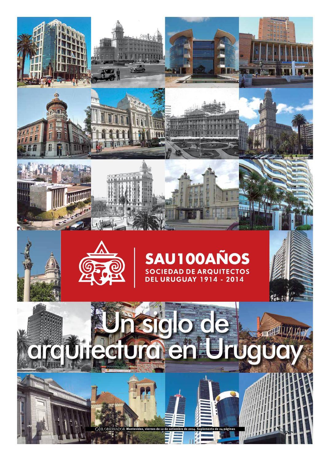 Un siglo de arquitectura en uruguay by sociedad de arquitectos del uruguay sau issuu - Sociedad de arquitectos ...