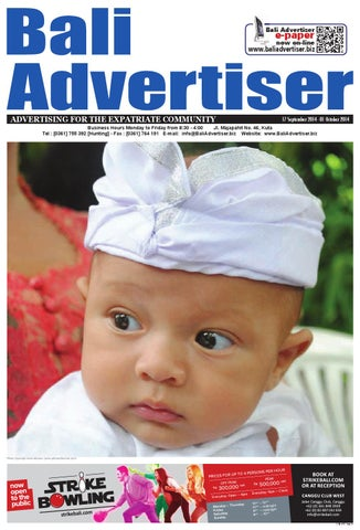BA 17 September 2014 By Bali Advertiser