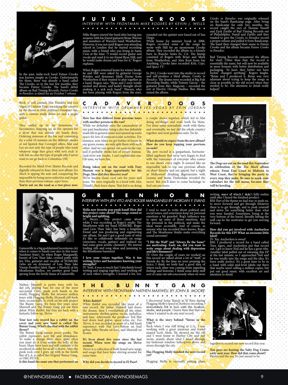 New Noise Magazine - Issue #12 by New Noise Magazine - issuu