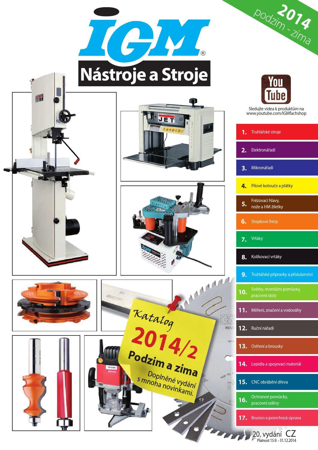 Katalog 2014 2 IGM Nástroje a stroje by IGM nástroje a stroje - issuu e789d0eb5b
