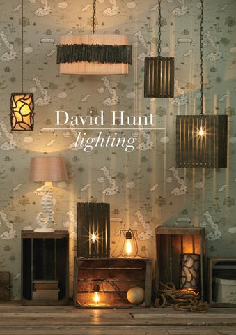 David Hunt Lighting By Kes Issuu