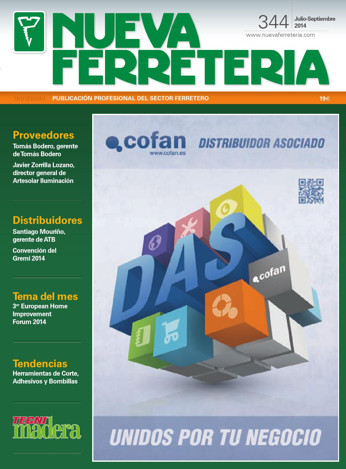 Nueva Ferretería nº 344 by Digital Newspapers S.L. - issuu