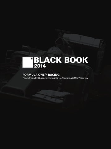 9b32f87a19e43 Black Book Formula One Racing 2014 by Henley Media Group - issuu