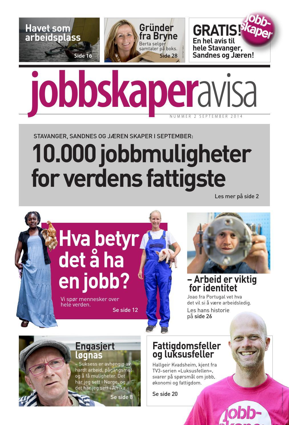 1ec10a32 Jobbskaperavisa 2014 by Strømmestiftelsen - issuu