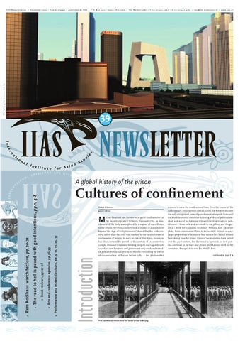 Iias Newsletter 39 By International Institute For Asian Studies Issuu
