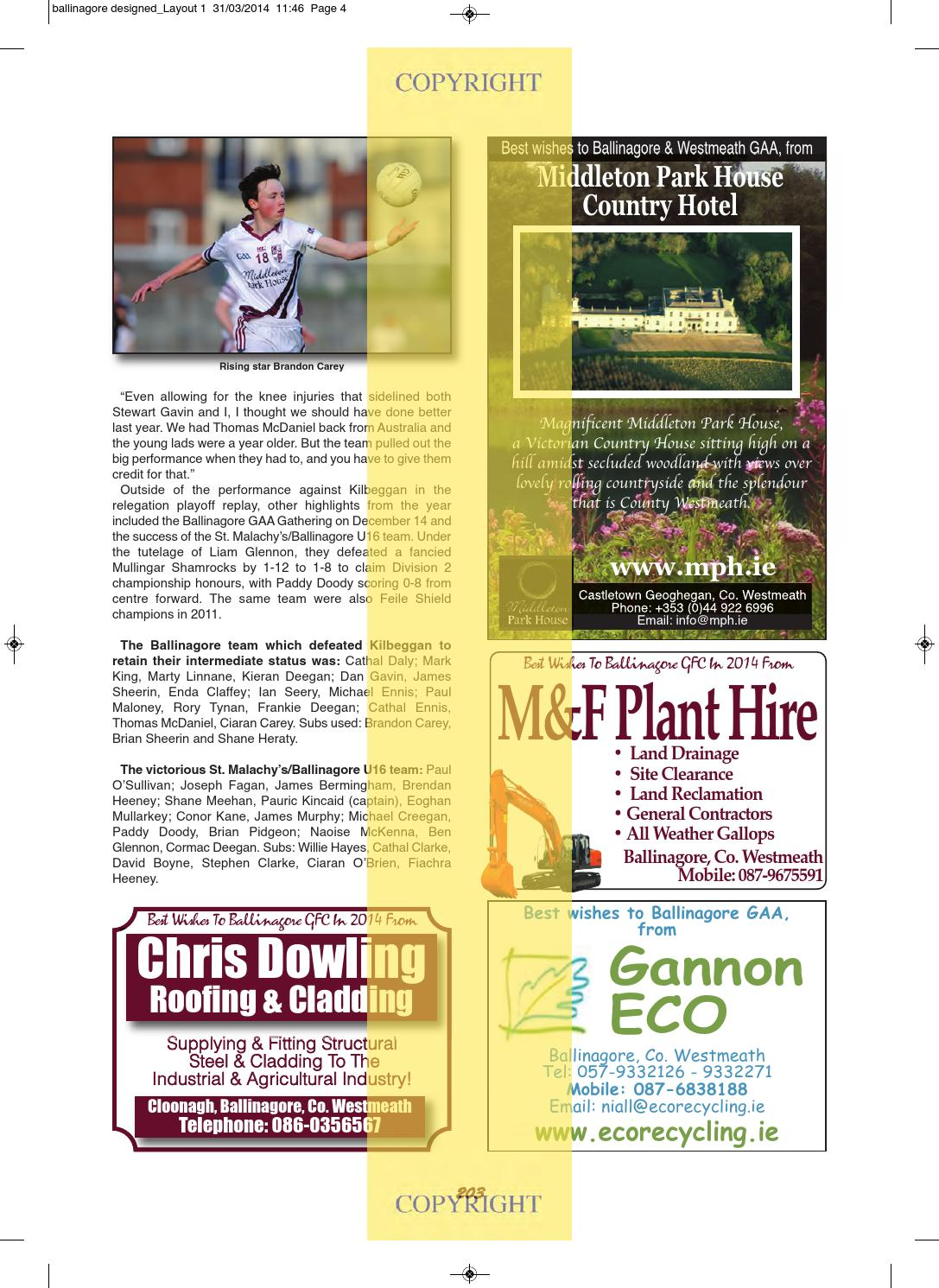 Westmeath2014b by lynn group media issuu malvernweather Image collections