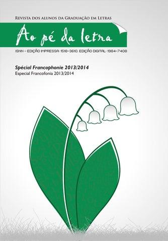 Revista ao p da letra volume especial francofonia by revista ao page 1 fandeluxe Gallery