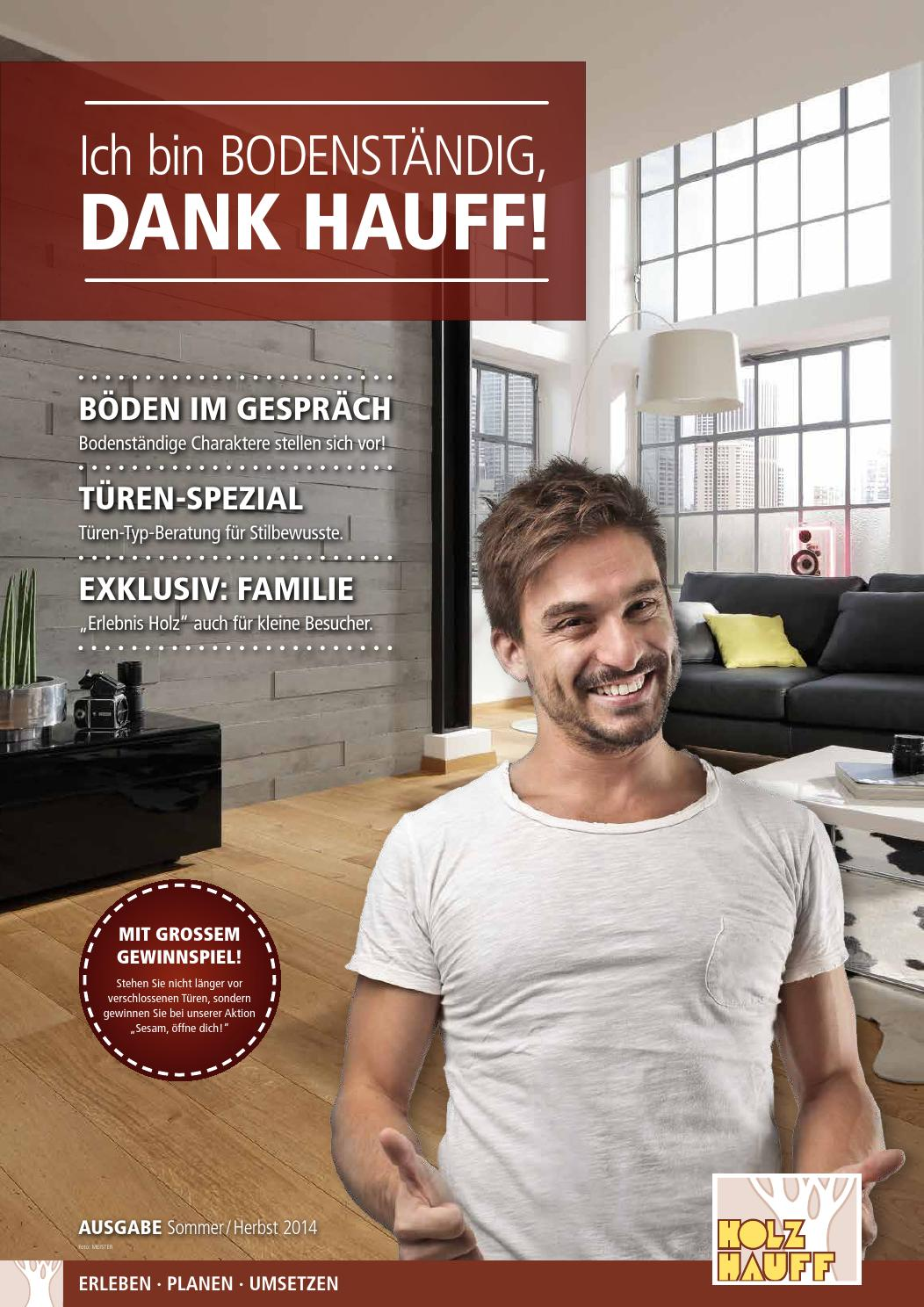 holz hauff beilage sommer herbst 2014 by opus marketing gmbh issuu. Black Bedroom Furniture Sets. Home Design Ideas