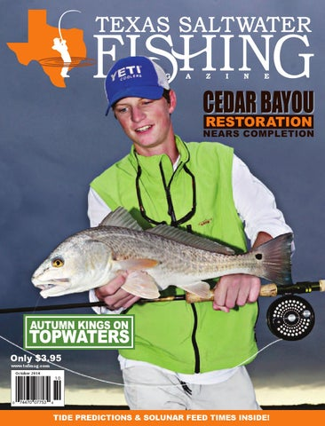 415a851b3e7a4 October 2014 by Texas Salwater Fishing Magazine - issuu