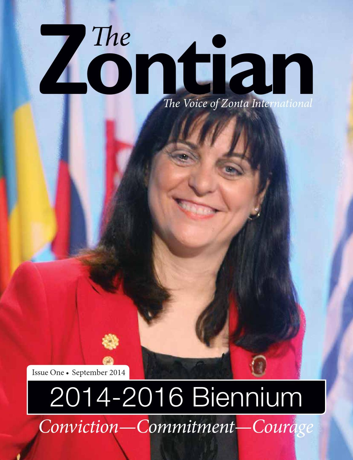 851ac49f8db The Zontian September 2014 by Zonta International - issuu