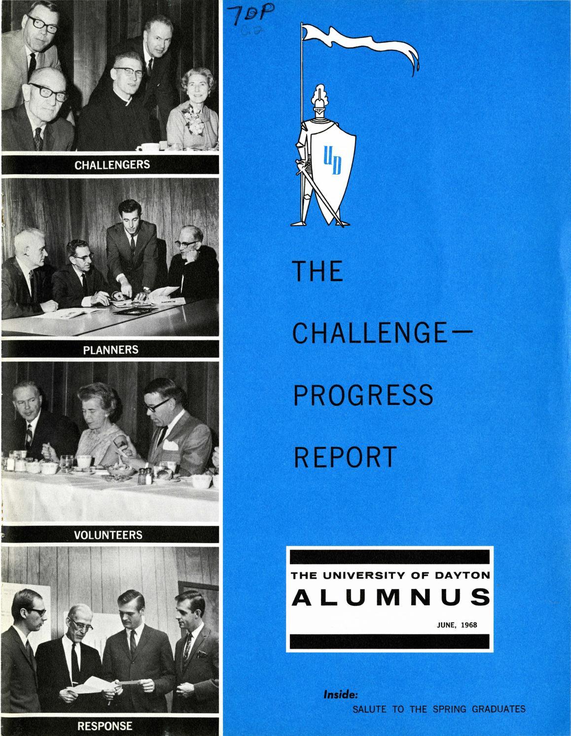 The University Of Dayton Alumnus June 1968 By Ecommons Issuu