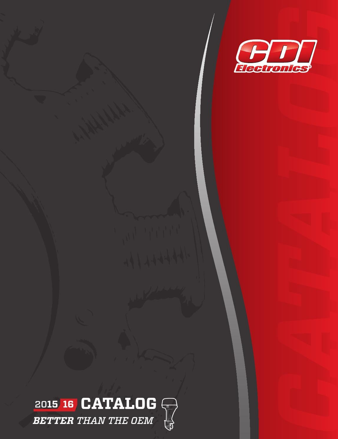 2015 2016 Cdi Electronics Catalog By Wiring Diagram Evinrude E Tec 40 Issuu