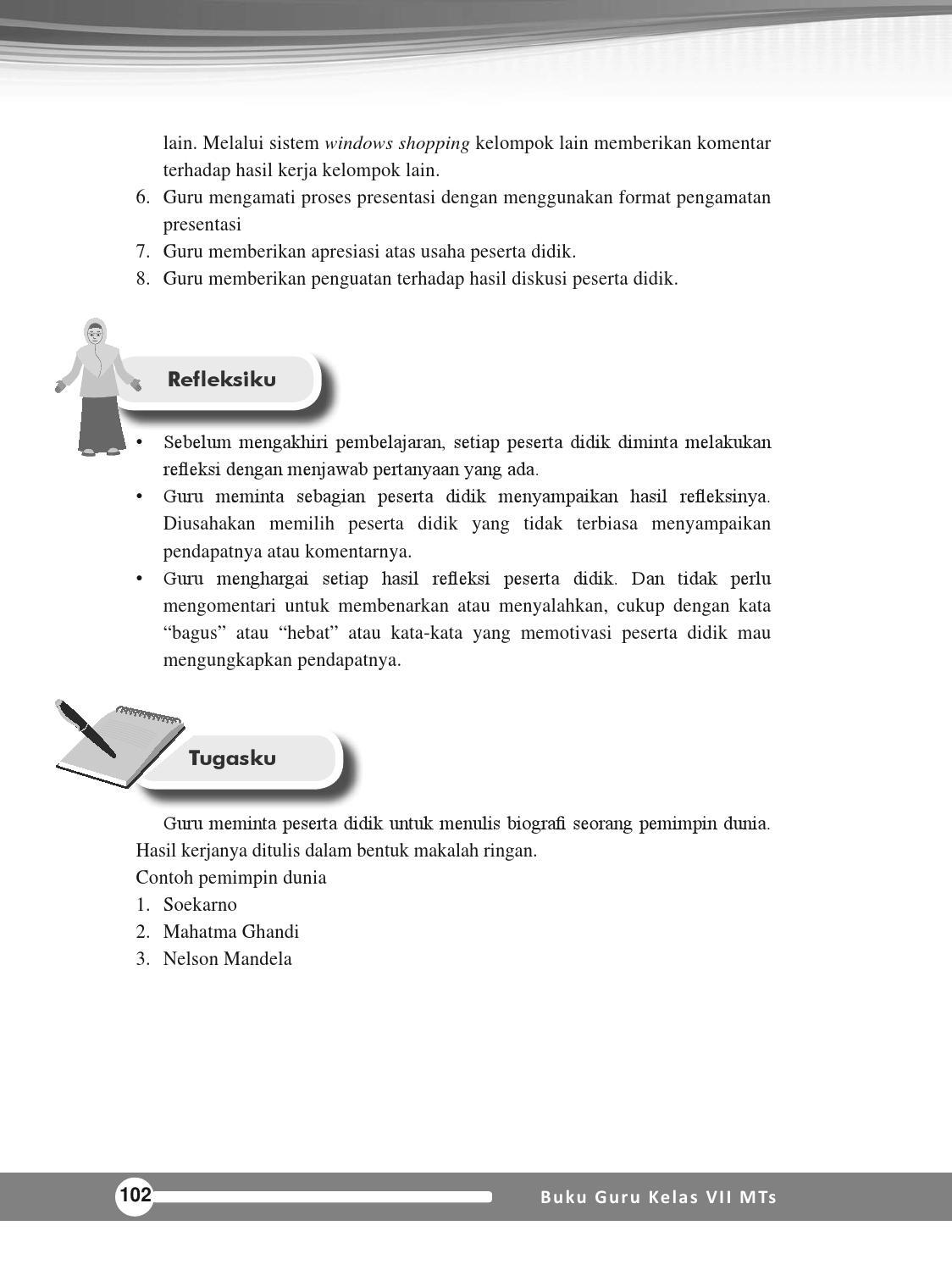 Buku Ski Mts 7 Guru By Madrasah Tsanawiyah Mandalahurip Issuu