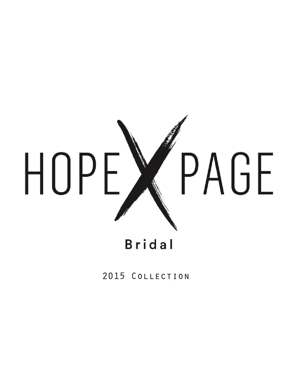 Hope X Page 2015 Collection By