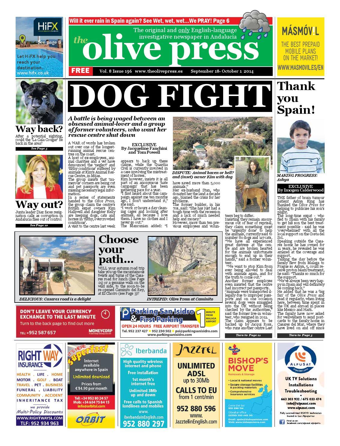 Olive Press Newspaper Issue 196 By Olive Press Newspaper Spain  # Muebles Piramides Caleta De Velez