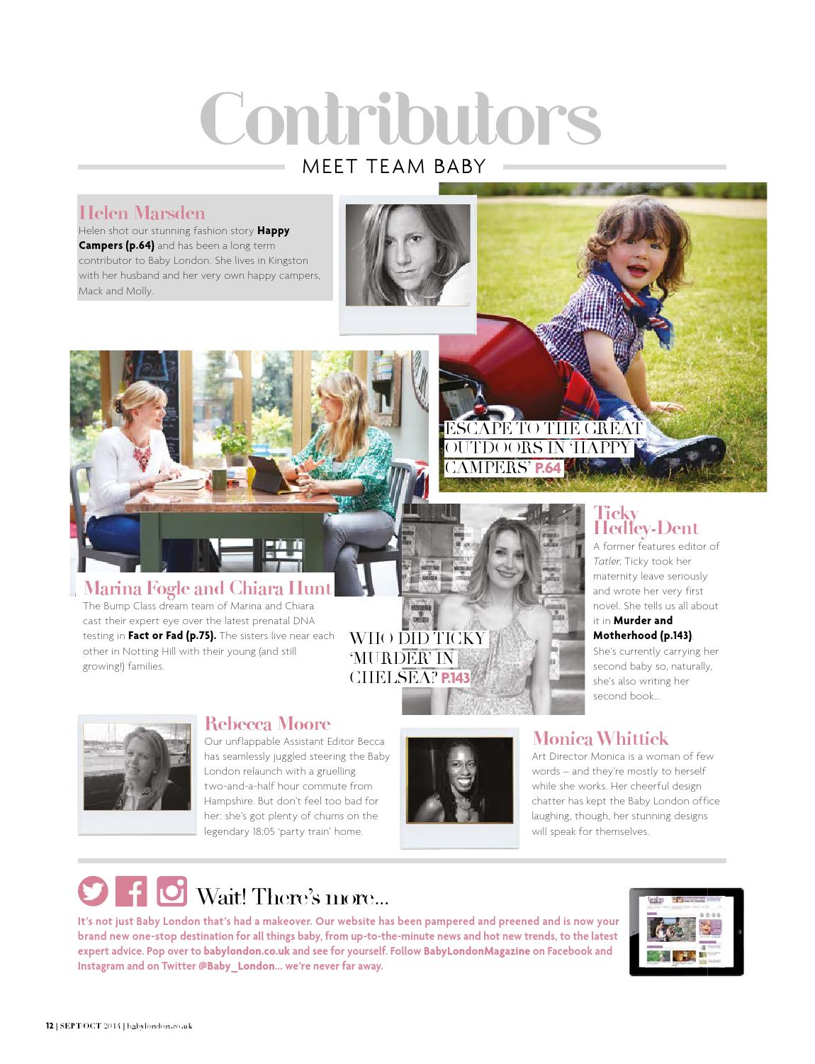 Baby London September/October 2014 by The Chelsea Magazine