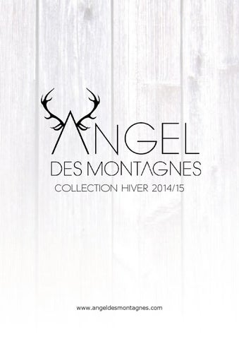 catalogue angel des montagnes 2014 15 by artravel. Black Bedroom Furniture Sets. Home Design Ideas