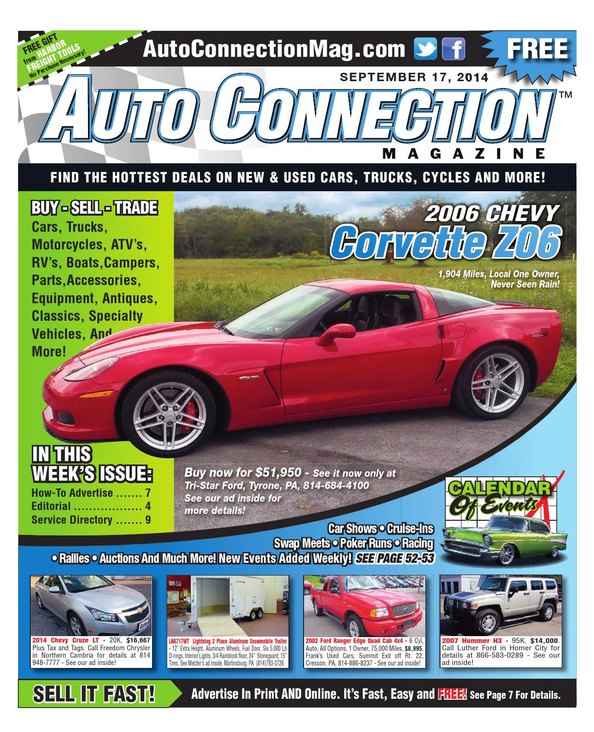 09 17 14 Auto Connection Magazine By Issuu 1995 Chevy 6 5 Turbo Sel