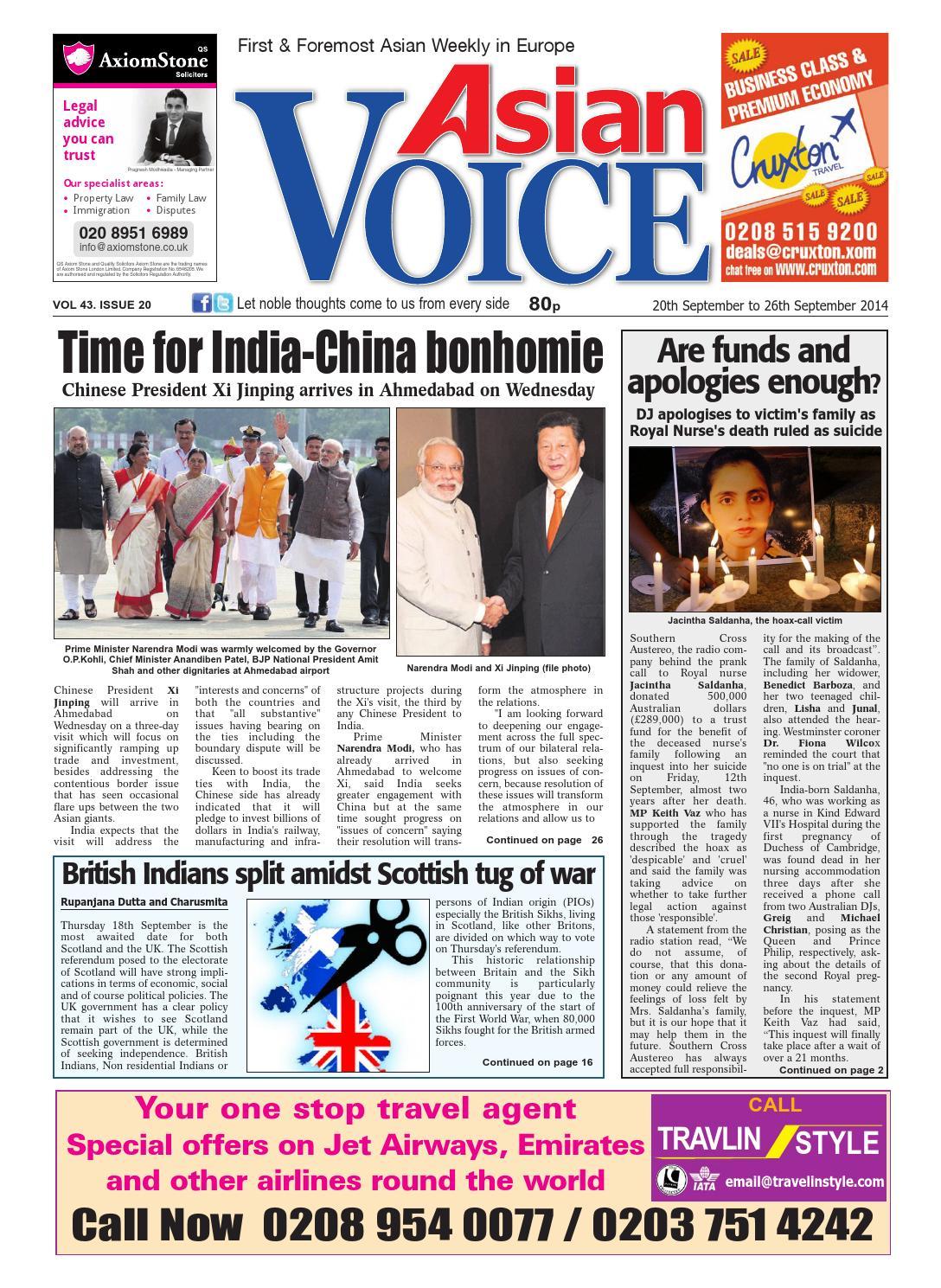 Mjn China: AV 20th September 2014 By Asian Business Publications Ltd
