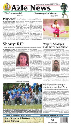 Volume 63, Number 14. Azle News