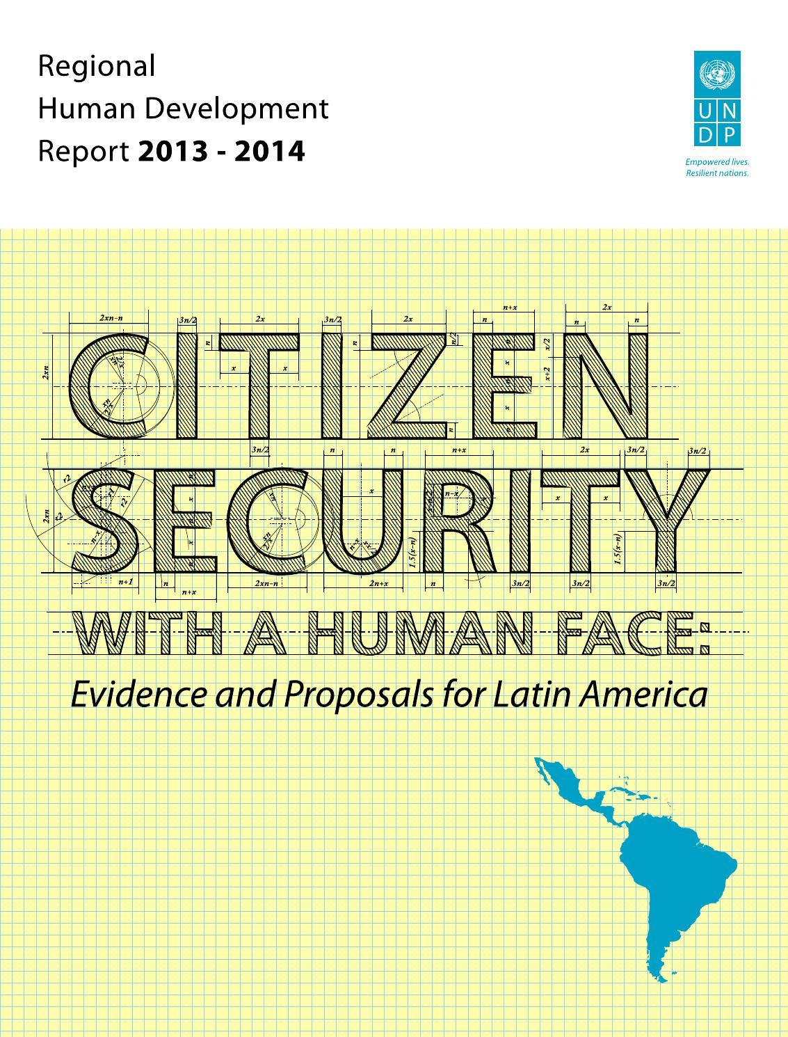 Human Development Report 2013 On Citizen Security In Latin America Database Alfred Basta Pdf By Programa De Las Naciones Unidas Para El Desarrollo En Amrica Latina Y Caribe