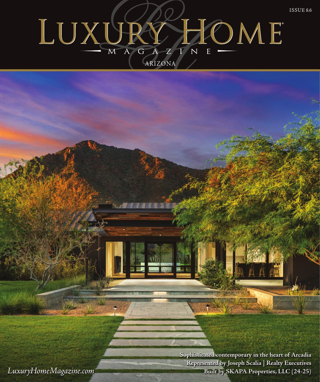 luxury home magazine arizona issue 8 6 by luxury home magazine issuu. Black Bedroom Furniture Sets. Home Design Ideas