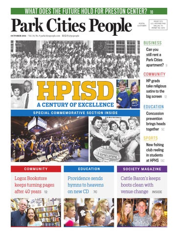 5d21e3bf258 Park Cities People -- October 2014 by People Newspapers - issuu