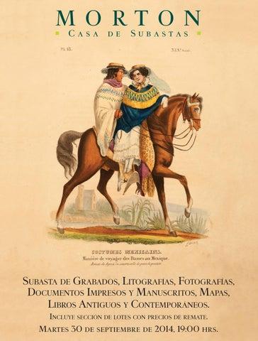 Subasta de Libros y Documentos. by Morton Subastas - issuu 116ef0b4f600