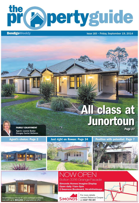 Bendigo Weeky Property Guide issue 183