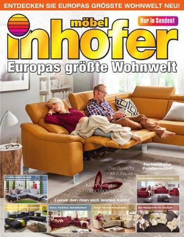 Möbel Inhofer Europas Größte Wohnwelt Kw 38 By Wolfram Daur Issuu