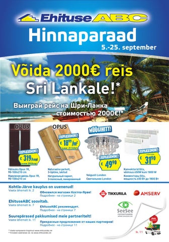 78f76b4a3dd 5.-25.september Hinnaparaad EhituseABCs by Optimera Estonia AS - issuu